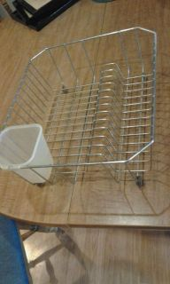Dish drainer, fits in most sinks. Used, not new.