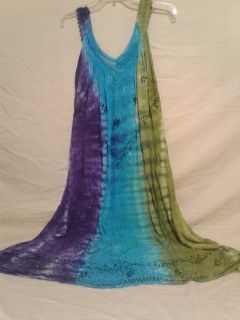 Gauze lounger dress. Size 1X. Large and slowly. Meet in Angleton.