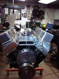 CHEVY 355 RACING MOTOR