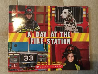 A Day at the Fire Station Book