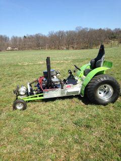 Mini-Rod Pulling Tractor