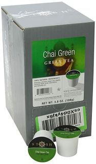 Stash Tea Chai Green Single-Cup Tea for Keurig K-Cup Brewers, 40 Count