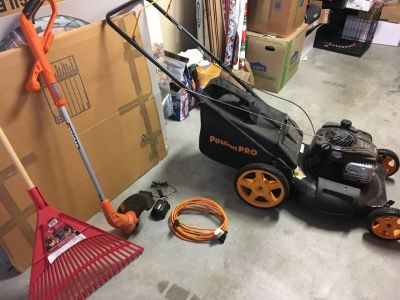 Lawnmower&Weed eater /edger