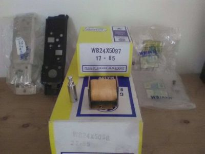 oven latch solenoid package and manual