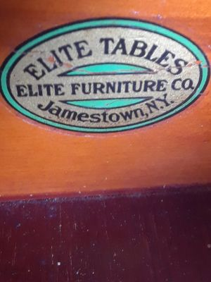 Elite Vtg Night Stand Side Lyre Table lions head