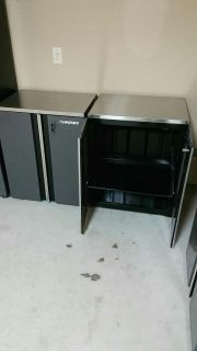 Cabinet W/ stainless steel work top