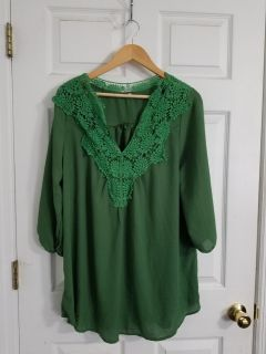 Perfect Top for St Patrick's Day 3X