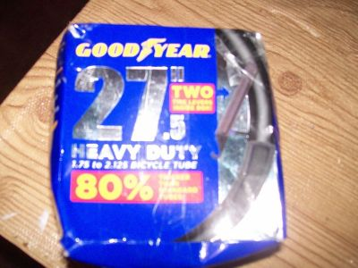 "27"".5 BICYCLE INNER TUBE by GOODYEAR"