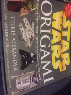 Star Wars origami with papers
