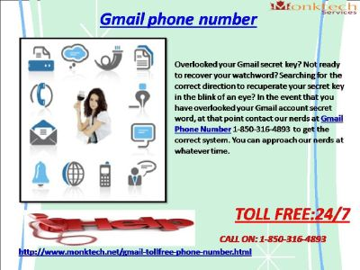 How To Achieve 1-850-361-8504 Gmail Phone Number ?