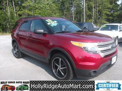 2013 Ford Explorer Base 4dr 4WD