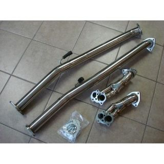 Sell Turbo Down Pipe + Test Pipe 4 Bolts 300ZX Z32 Fairlady Twin Turbo 90-96 motorcycle in Addison, Texas, United States
