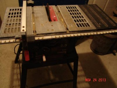 Sears 10 Table Saw on Stand Light Duty