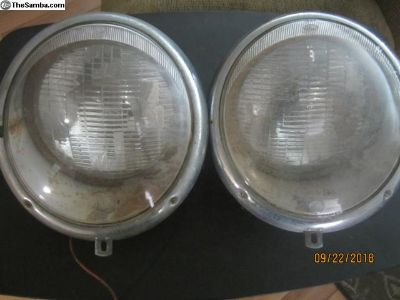 Split Bus headlights - Matching
