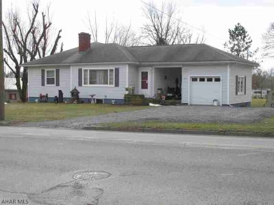 311 W Allegheny Street Martinsburg Three BR, Over an Acre in the