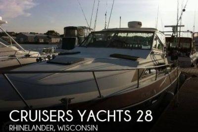 1986 Cruisers Avanti Vee 296