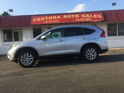 2015 Honda CR-V 4 door EXL-sedan (silver)