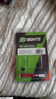 For Sale: XS DXW Big Dot for Sig P320