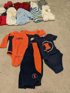 Lot of boy's 6-9 month clothing