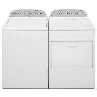 Whirlpool Washer and Dryer Set / Pair WTW5000DW/WED5000DW