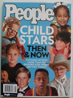 People Magazine Book Child Stars Then & Now (2008 Special Issue)