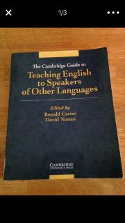 Cambridge guide to teaching English to other than good speakers textbook