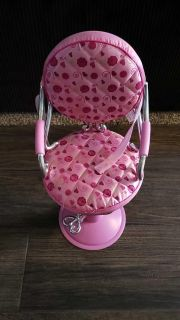 American girl doll salon chair ppu only