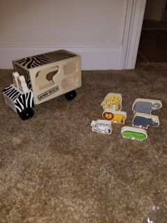Melissa and Doug shapes truck