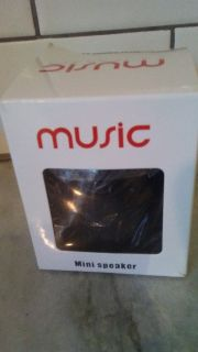 Music mini speaker