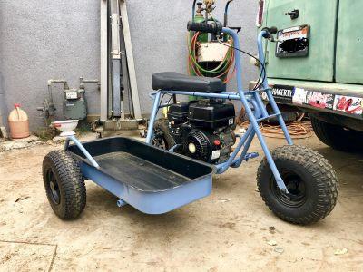 mini bike with custom side car