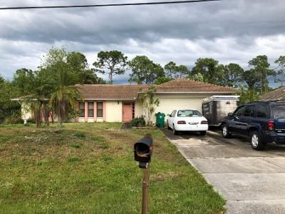 3 Bed 2 Bath Preforeclosure Property in Port Saint Lucie, FL 34983 - NW Selvitz Rd