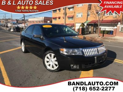 2009 Lincoln MKZ Base (Tuxedo Black Metallic)