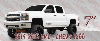 """Purchase 2014 2015 GMC CHEVY 7-9"""" Suspension Lift 2WD Steel Suspension Full Throttle motorcycle in Appleton, Wisconsin, United States, for US $1,850.00"""