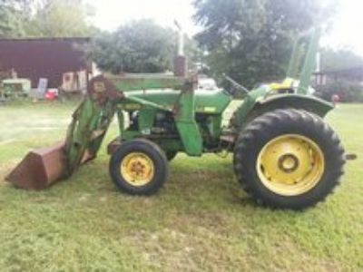 tractor and rototilling work