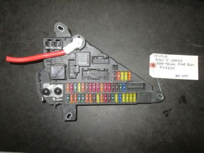 Purchase 08 09 10 BMW 5 SERIES REAR TRUNK FUSE BOX #9138830 *See item* motorcycle in Chatsworth, California, United States, for US $36.50