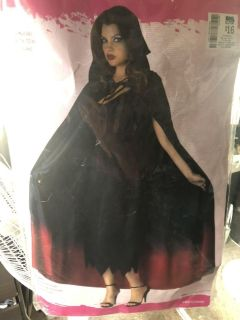Halloween Hooded Cape - Ombr