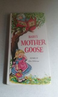 Baby's Mother Goose vintage 1959