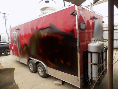2017 8.5' X 20' Concession Trailer RTR# 8073300-01