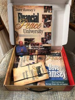 Dave Ramsey Financial Peace University, slide for another pic, great condition