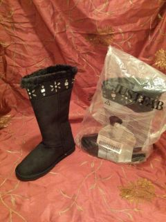 Brand new black ugg style boots size 8