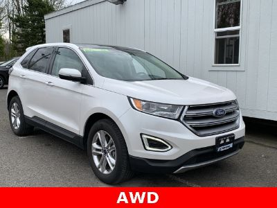 2015 Ford Edge (white)