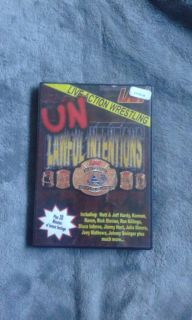 LAW: Live Action Wrestling - Unlawful Intentions DVD