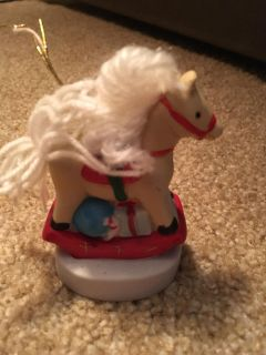 Rocking Horse Bell Ornament