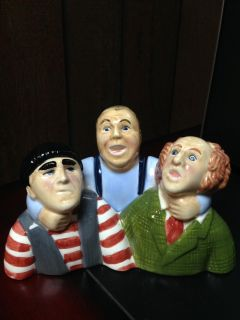 Three Stooges Salt and Pepper Shakers