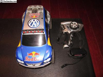 Radio Controlled Red Bull VW Toureg - Good Cond.