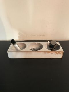 Desk caddy or candle tray