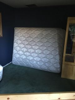 FREE Queen mattress and box spring.