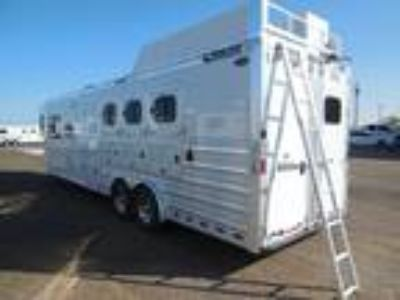 2014 Cimarron Norstar 3H OUTLAW COUCH AND DINETTE + GENERATOR 3 horses