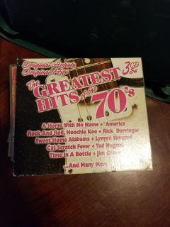 Greatest hits of 70's cds