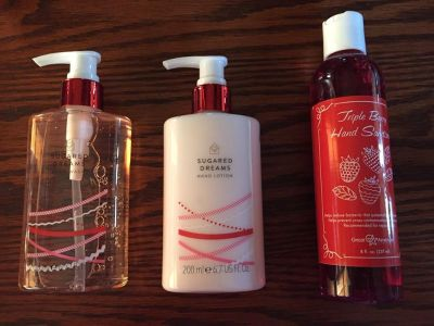 Hand wash, lotion and sanitizer
